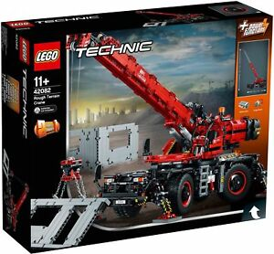 Lego-42082-Technic-Rough-Terrain-Crane-NEW-Factory-Sealed