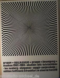 Mappe-Gruppe-Bewegung-Moskau-1962-1965-Edition-Hoffmann-1969