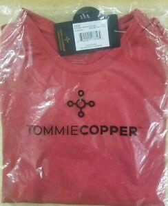 Tommie Copper Boys Core Short Sleeve Crew Tee Shirt 10//12 Black Medium
