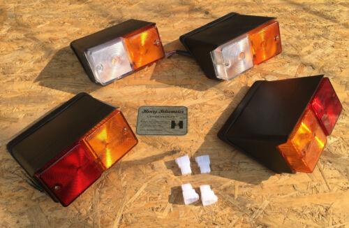 FORD Traktor Leuchtensatz Lampensatz Beleuchtung Ford 2000 3000 4000 5000 3055