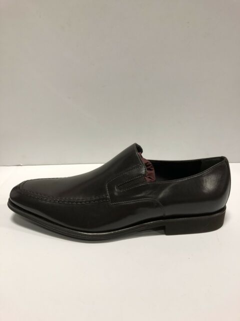 Loafer Dress Shoes Dark Brown Leather