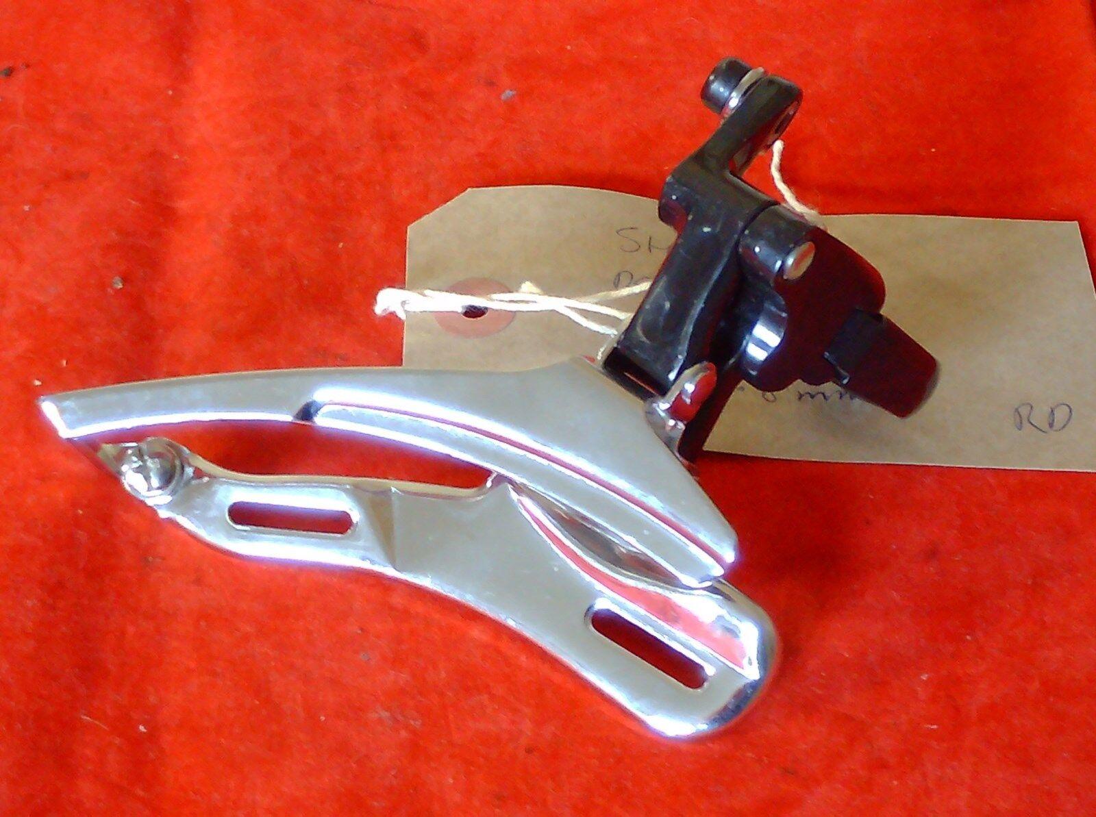 NOS SHIMANO DEORE LX 31.8mm    FRONT DERAILLEUR FD-M560, 1993  comfortably