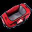 thumbnail 1 - adidas Defender III Large Red Duffel Bag - model 5143959