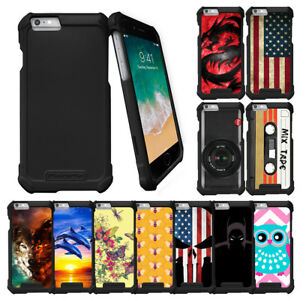 For-Apple-iPhone-6-iPhone-6s-4-7-034-Slim-Fitted-Snap-On-Case-Unique-Designs