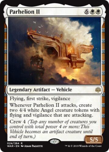 *4x Parhelion II* War of the Spark MTG DeadGuyGames