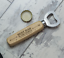 Personalised-Fathers-Day-Gifts-Wooden-Bottle-Opener-Any-Text-Grandad-Dad-Daddy thumbnail 1