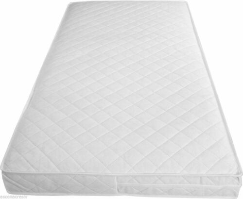 NEW BABY COT BED//TODDLER QUILTED FULLY BREATHABLE WATERPROOF MATTRESSES ALL SIZE