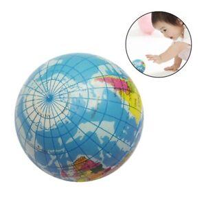 Mini World Map.1pc Cute Mini World Map Foam Earth Globe Stress Bouncy Ball Atlas