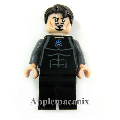 LEGO 76007 Marvel Super Heroes Iron Man Malibu Mansion Atk TONY STARK Minifigure