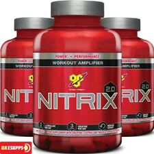 BSN NO 2.0 NITRIX OXID Muskelaufbau Ausdauer Kreatin cirtuline Amino 180