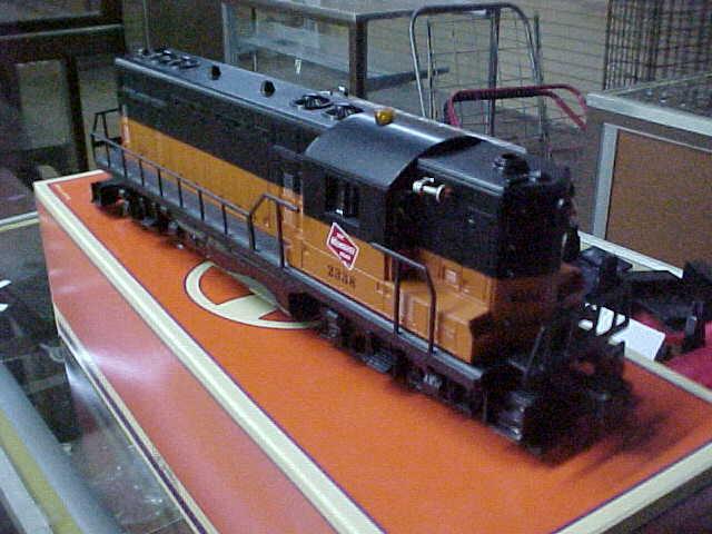 Jm Lionel 18565 Milwaukee Rd Gp 9 Diesel Locomotive Command And