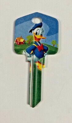 Donald Duck House Key Disney Kwikset New Blank