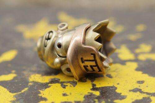 """Couteau Lanyard EDC Bead laiton et Fabriqué en bronze Paracord Bead /""""Bart Simpson/"""""""