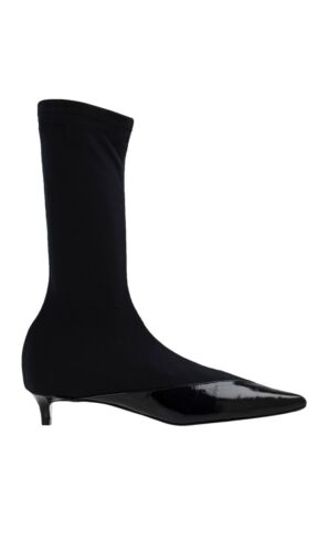Givenchy Show Boot 30 Stivaletto Donna Nero In Pelle Luxury Givenchy Boot 38.5