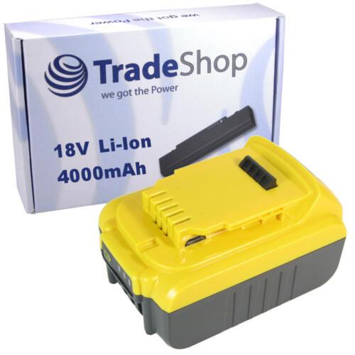 Batterie 18v 4000mah Li-Ion pour DEWALT dcs391m1 dcs393 dcf895b dcf885c2