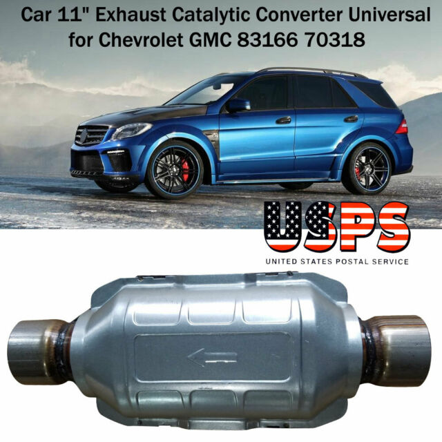 Car Exhaust Catalytic Converter Universal Fit for Chevrolet GMC 83166 70318 New