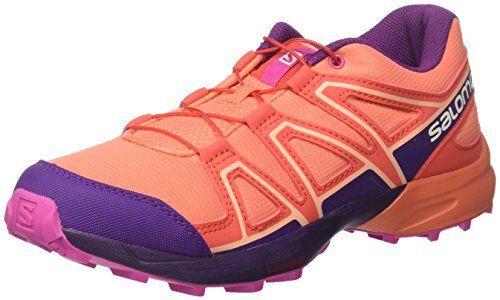 Salomon Kids Speedcross Junior Running Sneakers Pick SZ//Color.