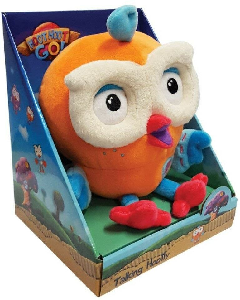 Giggle And Hoot - Talking HootlyInteractive Toy,20 X 16 X 15cm