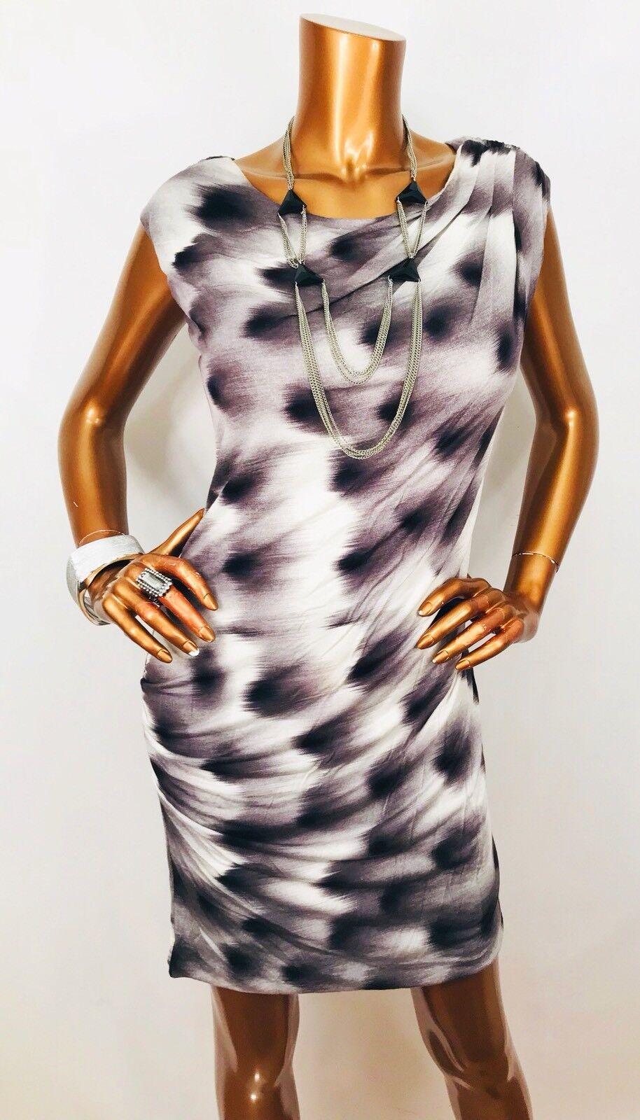 Anthropologie Leifsdottir NWT  Tie Dye Ruched Stretch Mini Dress Sleeveless