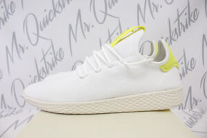 Tennis 10 Wolke Yellow Pharrell Chalk 5 B41806 Adidas Hu Weiß Originals 1qB5PP