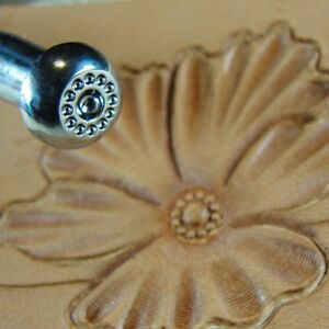 Leather-Stamping-Tool-J520-12-Seed-Flower-Center-Stamp