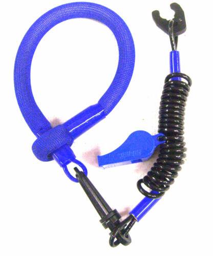 KAWASAKI JETSKI JET SKI STX1100 ZXI STX12F ULTRA STX15F BLUE SLIP LANYARD