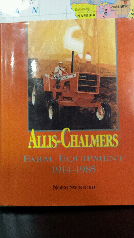 Allis Chalmers maquinaria agrícola 1914-2018 por Norm Swinford