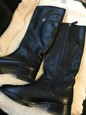 fbf79d0b7ec2b item 2 Tory Burch Women s Jolie Riding Boots Black Tumbled Leather 6383  Size 10 -Tory Burch Women s Jolie Riding Boots Black Tumbled Leather 6383  Size 10