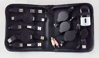 12 Piece Computer Adapters, Cables & Accessories Kit Usb, Rj, & Firewire
