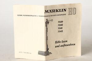 1955 Märklin informationsheftchen señales 446
