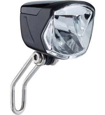 """CONTEC LED-Scheinwerfer /""""HL-3001 XO E+/"""" für E-Bike 6-48 V-DC mit 70 Lux"""