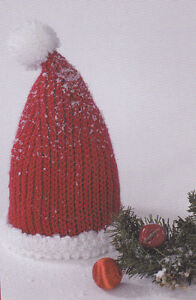 Crochet Pattern Baby Santa Hat Instructions Ebay