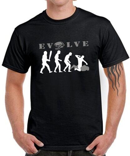 MMA T-Shirt Kampfsport EVOLVE mixed martial arts boxen muay thai jiu jitsu
