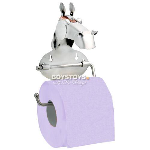 Métal-Art Design Cheval Distributeur de papier toilette