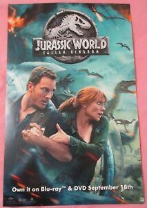 Jurassic-World-Fallen-Kingdom-Movie-Promo-Poster-Fan-Expo-Comic-Con-2018