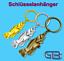 Schluesselanhaenger-Taschenanhaenger-Fisch-Gold-Silber-Bronze Indexbild 1