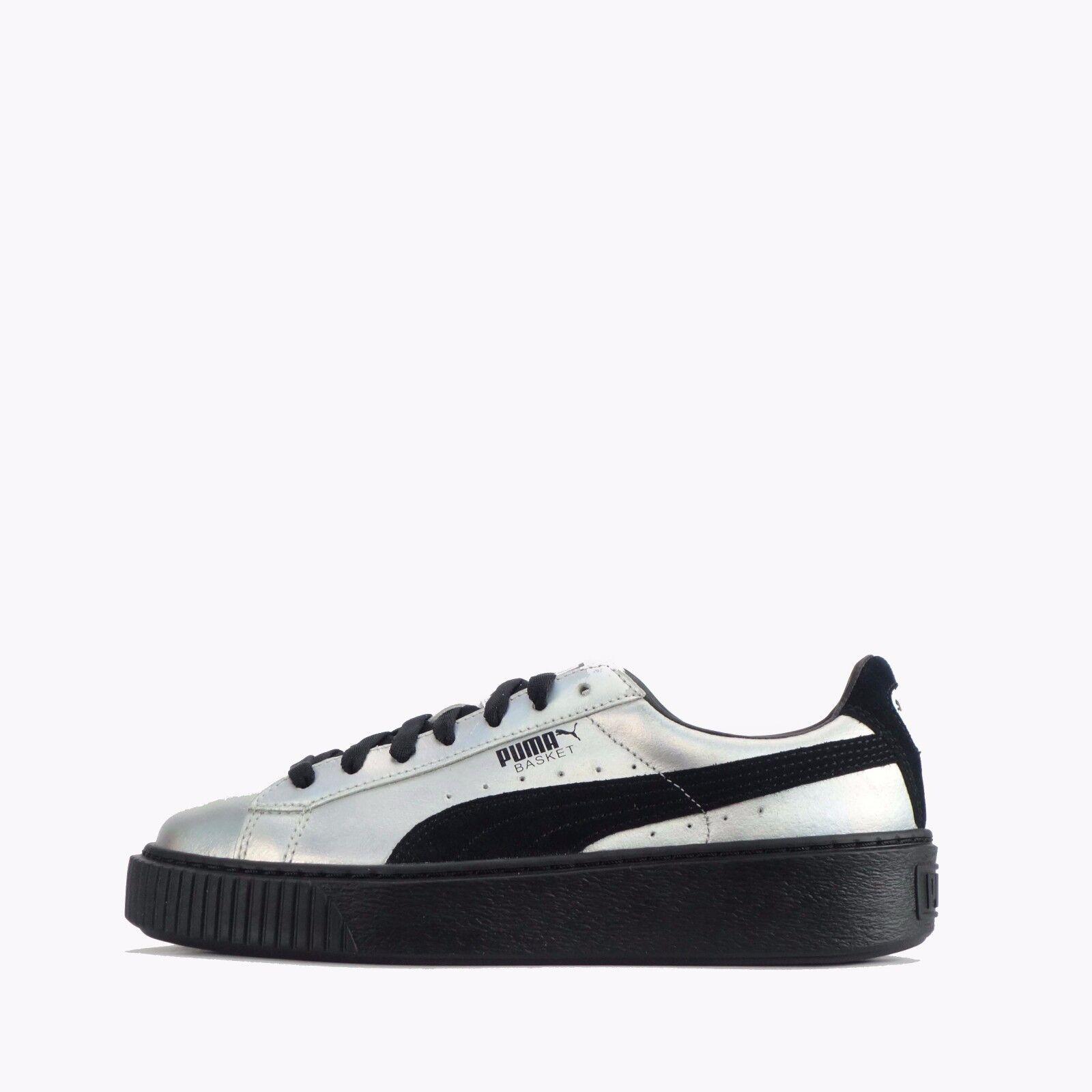 Puma cesto piattaforma esplosivo scarpe da donna silver / nero