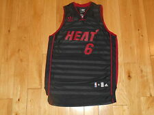 adidas LEBRON JAMES Limited Edition MIAMI HEAT Youth NBA Team Swingman JERSEY Md