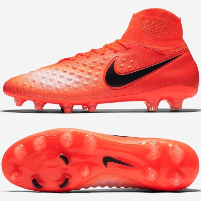 4cf7413745f8d Nike Magista Orden II FG Soccer Cleats Crimson Mens 843812-806 Sz 12.5 for  sale online