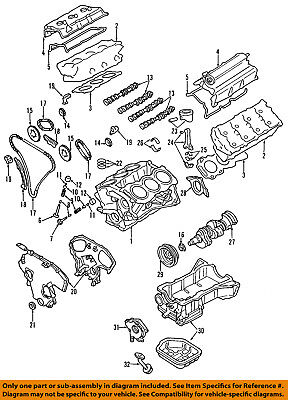 One New Genuine Engine Timing Chain Guide 13091JK20A for Infiniti Nissan