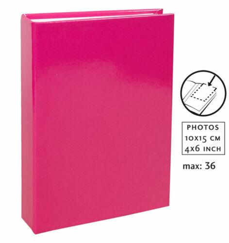 Uni Fotoalbum für 36 Fotos in 10x15 cm Einsteck Foto Album Minialbum