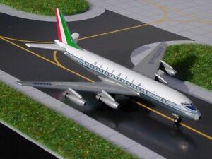 GEMINI-JETS-GJAZA157-ALITALIA-AIRLINES-DC8-43-1-400-SCALE-DIECAST-METAL-MODEL