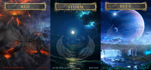 Basic Pack of Storm-Mana Counters #1 MTG