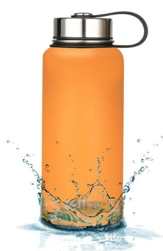 citrouille Mira isotherme double paroi sous vide en acier inoxydable bouteille d/'eau 32 Oz environ 907.17 g