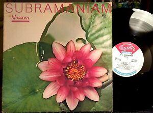 Larry-Coryell-w-Subramaniam-LP-Blossom-CRP-16003-1981-EX-Audiophile