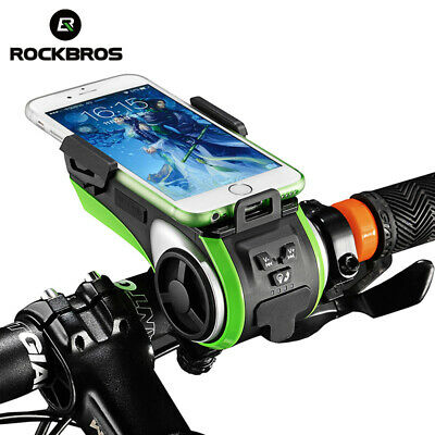 ROCKBROS Bike Light Holder Flashlight BracketRotating Quick Release Lamp Holder