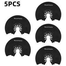 5pcs Metal Oscillating Multi Tool Semicircular Saw Blade Blades Set Carbide