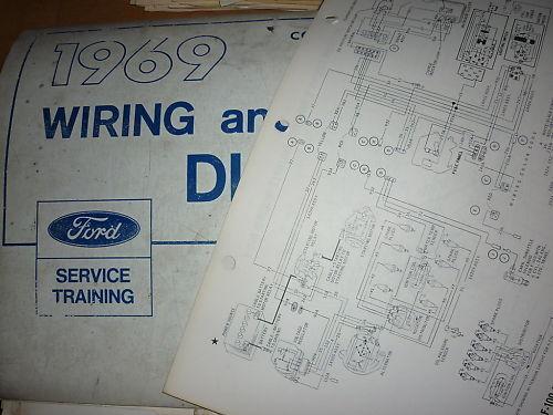 1969 Ford Cortina Factory Original Wiring Diagrams Set