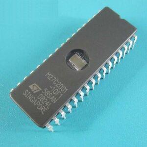 1PCS M27C2001-10F1 IC EPROM UV 2MBIT 120NS 32CDIP NEW