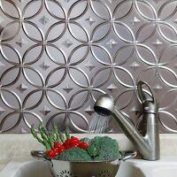 Kitchen Backsplash Decorative Vinyl Panel Wall Tiles Bathroom Bath Tin Metal